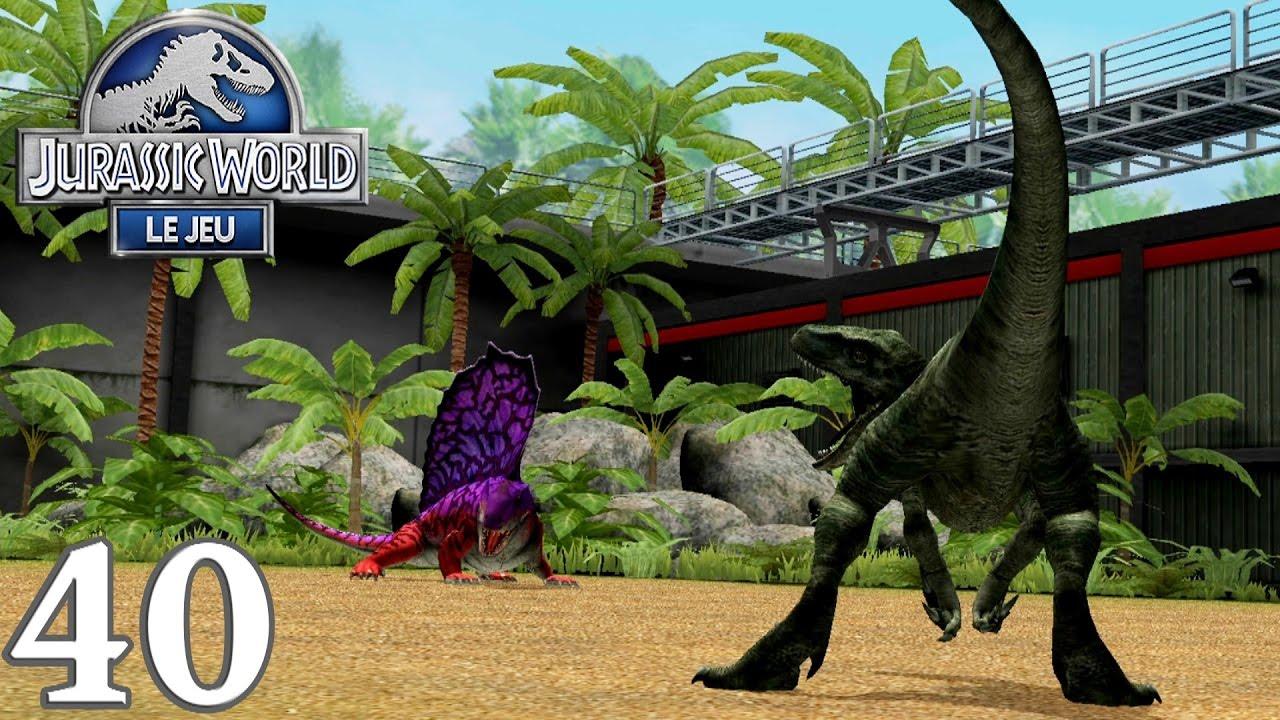 Jurassic world le jeu 40 enclos raptors - Jeux de jurassic park 3 ...