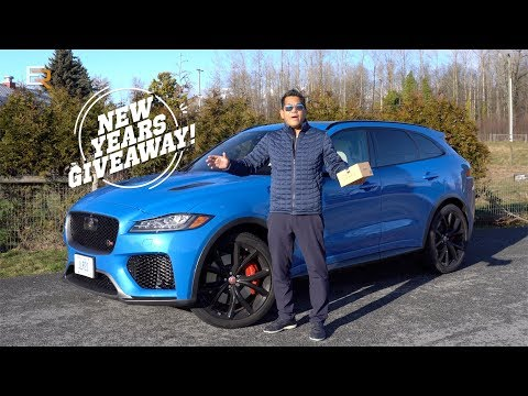2020 Jaguar F-PACE SVR Review -