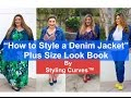 How to Style a Denim Jacket | Repurpose Summer Clothes | Plus Size Lookbook