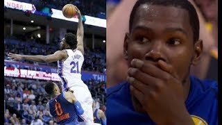 Download Most humiliating plays of the 2017/2018 NBA Season! (LeBron, Embiid, Harden, ...) Mp3 and Videos