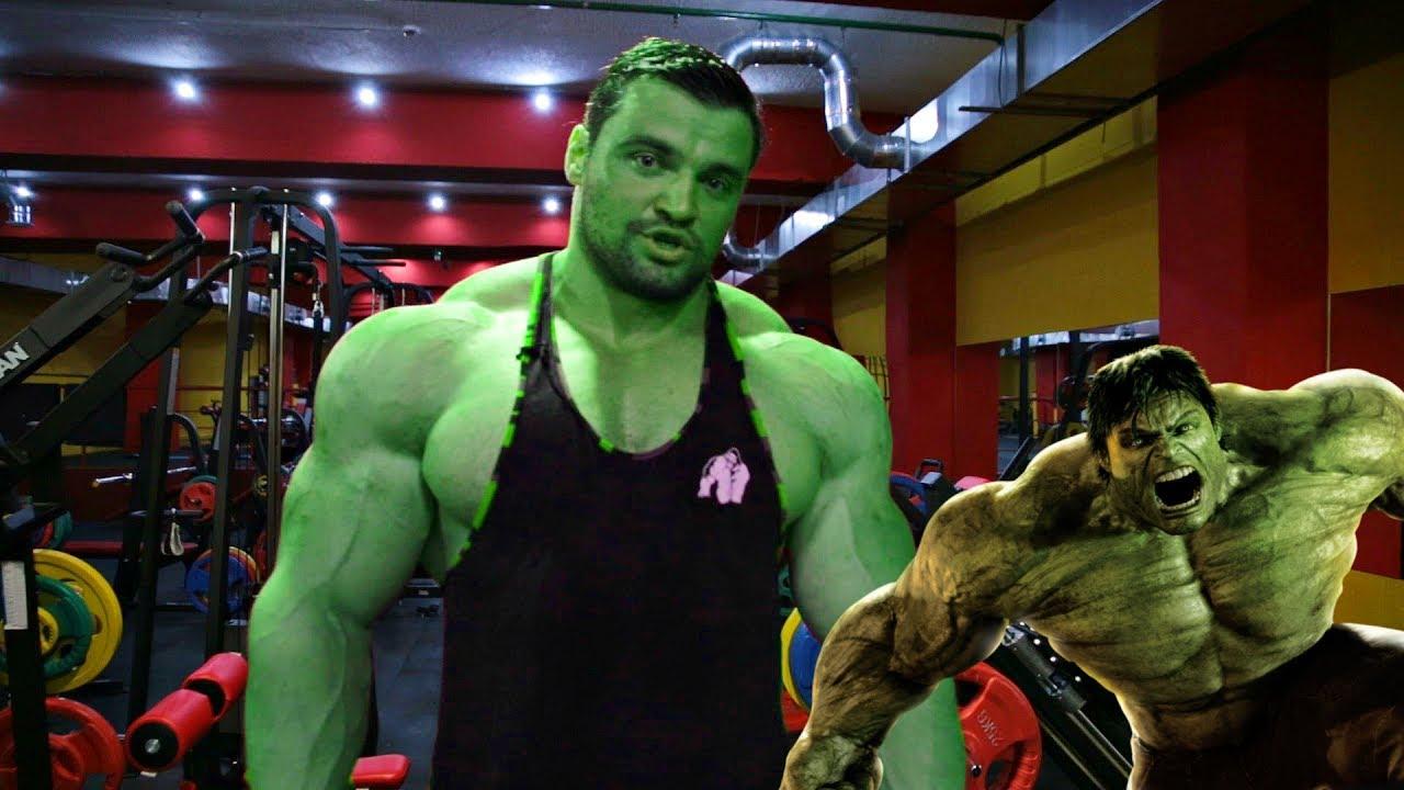 ХАЛК В РЕАЛЬНОЙ ЖИЗНИRussian Hulk - Федоров