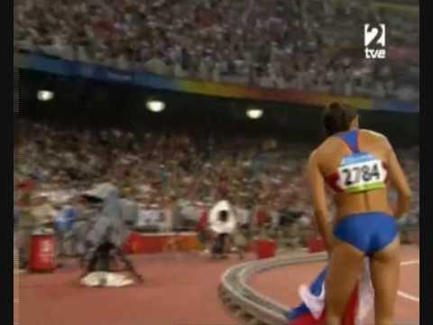 Yelena Isinbayeva Olympics Beijing 2008 World record