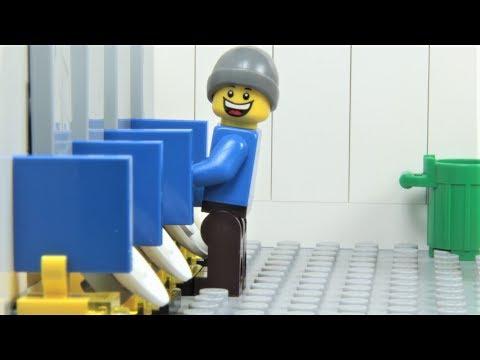 Lego Toilet Fail