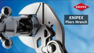 KNIPEX ключ-трещётка ZANGEN Shlusse(Показан ключ трещоточного типа от KNIPEX, как с помощью одного ключа можно отвинтить практически все гайки., 2010-09-02T17:09:05.000Z)