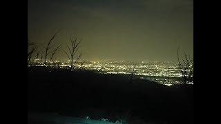 大山に行ってきました。 東京、神奈川、千葉の大パノラマの夜景が見えま...