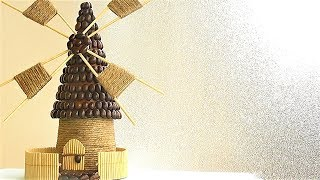Декоративная МЕЛЬНИЦА своими руками / ЛЕГКО И ПРОСТО мастер-класс