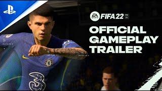 FIFA 22 - CONOCE las mecánicas mejoradas en el primer GAMEPLAY oficial | PlayStation España