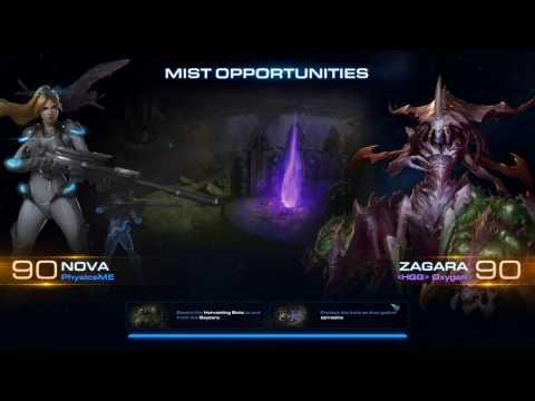 Starcraft 2 Co-op Commander Nova Gameplay