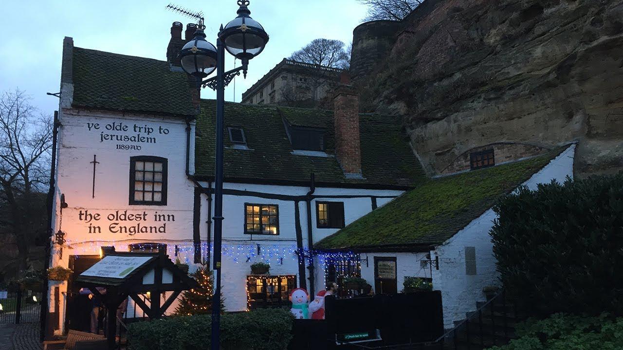 Ye Olde Trip to Jerusalem - The Oldest Pub In England