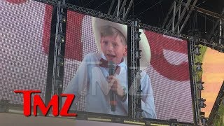 Yodeling Kid Mason Ramsey Performs at Coachella  TMZ