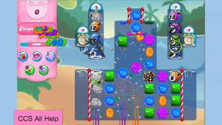 Candy Crush Saga Level 4333 3 moves NO BOOSTERS Cookie