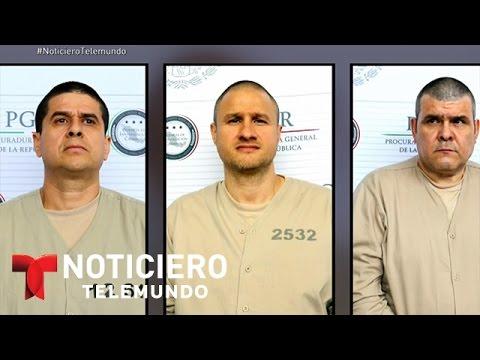 Llegan a EEUU 13 presuntos narcotraficantes extraditados de México | Noticiero | Noticias Telemundo