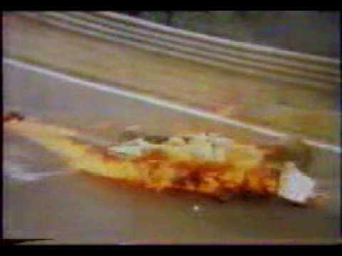 Niki Lauda Crashes On The Nuerburgring YouTube