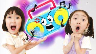 라디오가 이상해요!!!! 신기한 마법의 라디오 장난감 놀이 Kids Pretend Play with Magic Radio Toy - 마슈토이 Mashu ToysReview