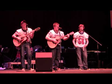 """Duncan Brewer sings """"The Boys of Fall"""" by Kenny Chesney with Tom & Toby Randall"""