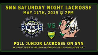 Regina Rifles vs Standing Buffalo Fighting Sioux - PGLL Junior - May 2, 2019