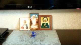 Обзор новой стенки под телевизор! Новая мебель.Murz Murzovi4