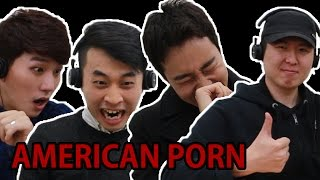 vuclip KOREAN GUYS WATCH AMERICAN PORN FOR THE FIRST TIME