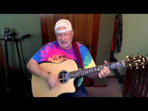 1944 -Puppy Love- Paul Anka vocal & acoustic guitar cover & chords