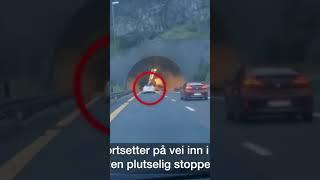 오토파일럿이 정신나간 운전자의 목숨을 구했다! #테슬라 #Shorts #FSD