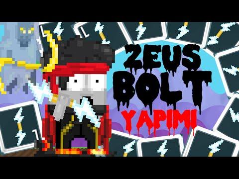 Growtopia Zeus Lightning Bolt Yapımı Youtube