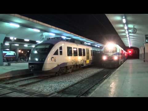 The Golden Eagle Danube Express arrived at the station of Thessaloniki (18/7/2015)