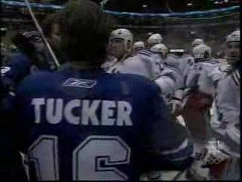 Sean Avery and Darcy Tucker Pregame Scrum