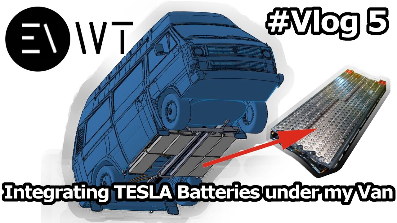 integration of tesla model s batteries for my vw t3 syncro. Black Bedroom Furniture Sets. Home Design Ideas