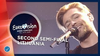 Jurij Veklenko - Run With The Lions - Lithuania - LIVE - Second Semi-Final - Eurovision 2019