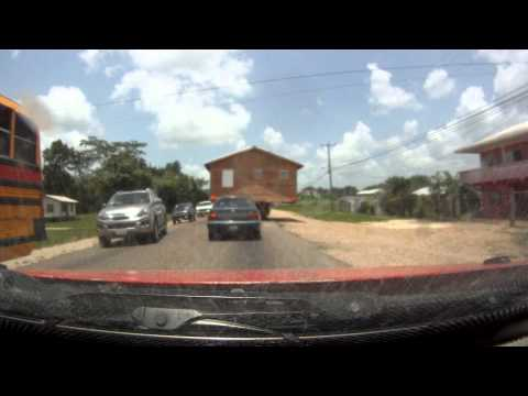 House transporting in Belize