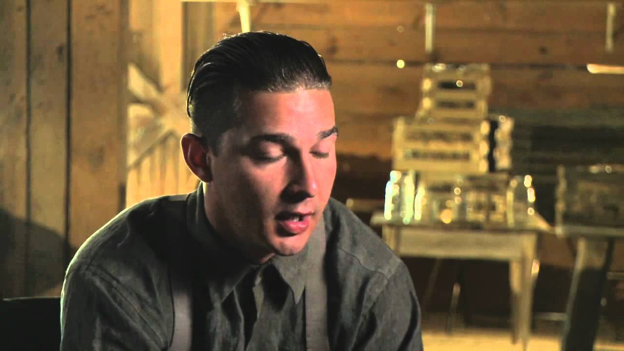 shia labeouf 'lawless' interview