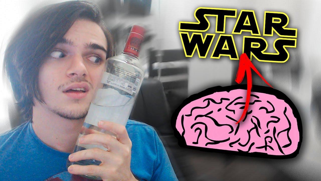 BÊBADO JOGANDO (1 ERRO = BEBER) - Gênio Quiz Star Wars