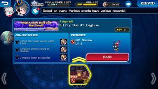 [KHUx Event] Kingdom Hearts 358/2 Days Quiz Event!