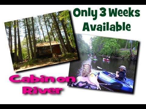 Waterfront Cabin For Rent Near Sebago Lake, Lakes Region, New England Waterfront Cabins.