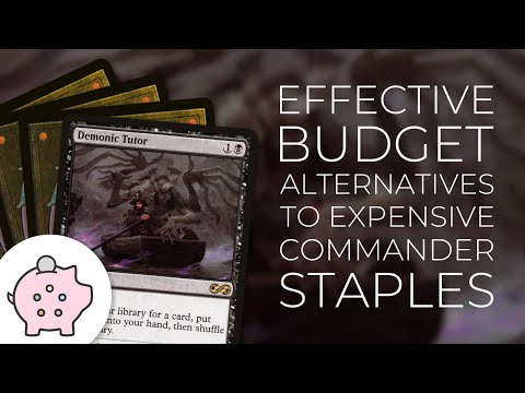 Budget Alternatives to Expensive Commander Staples | Demonic Tutor | Birds of Paradise | EDH | MTG
