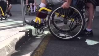 Terry Pepi Wheelchair Skills