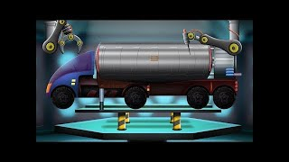 Kids TV Channel | Trailer Truck |  Modification Car Garage | Futuristic Vehicles For Kids