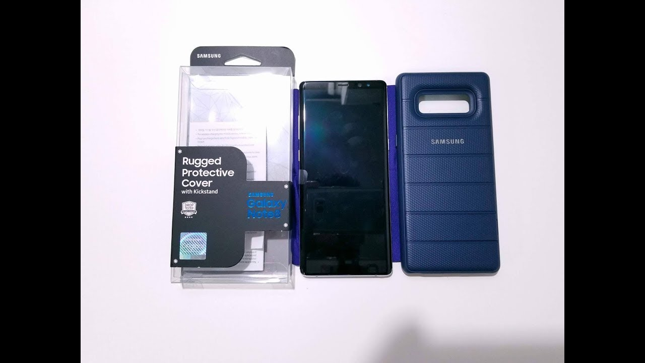 new arrival 90b90 2cb22 Samsung Rugged Protective Cover for the Galaxy Note8
