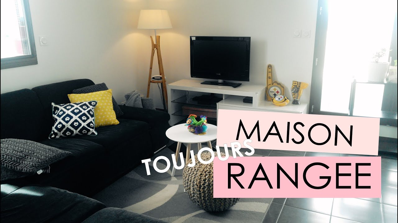 astuces pour une maison toujours rang e youtube. Black Bedroom Furniture Sets. Home Design Ideas