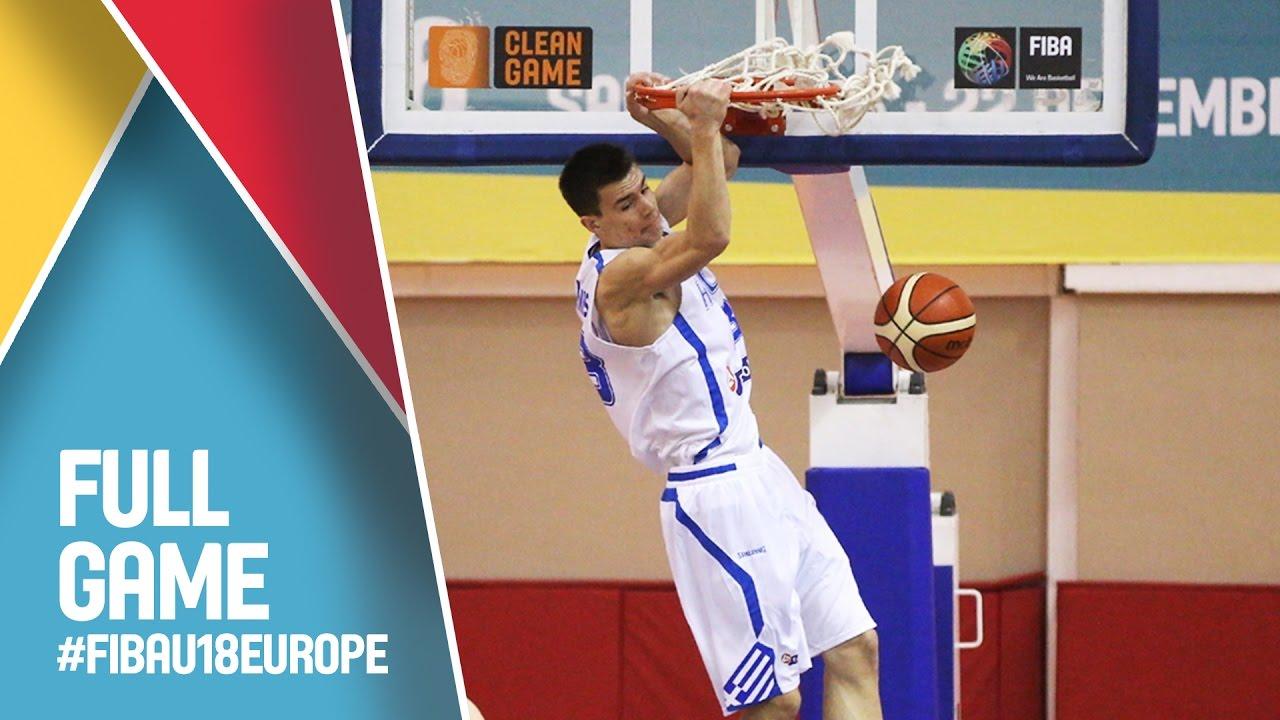 Ελλάδα - Σλοβενία για τις θέσεις 9-12 του Ευρωπαϊκού Εφήβων, ζωντανά στις 19.45 από την Σαμψούντα