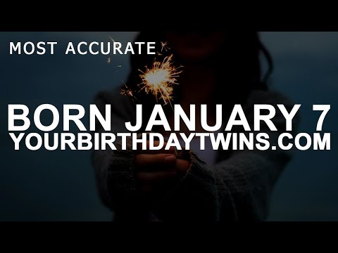 Born On January 7 | Birthday | #aboutyourbirthday | Sample