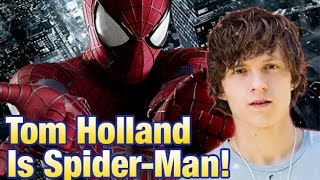 Meet Marvel's Spider-Man: Tom Holland