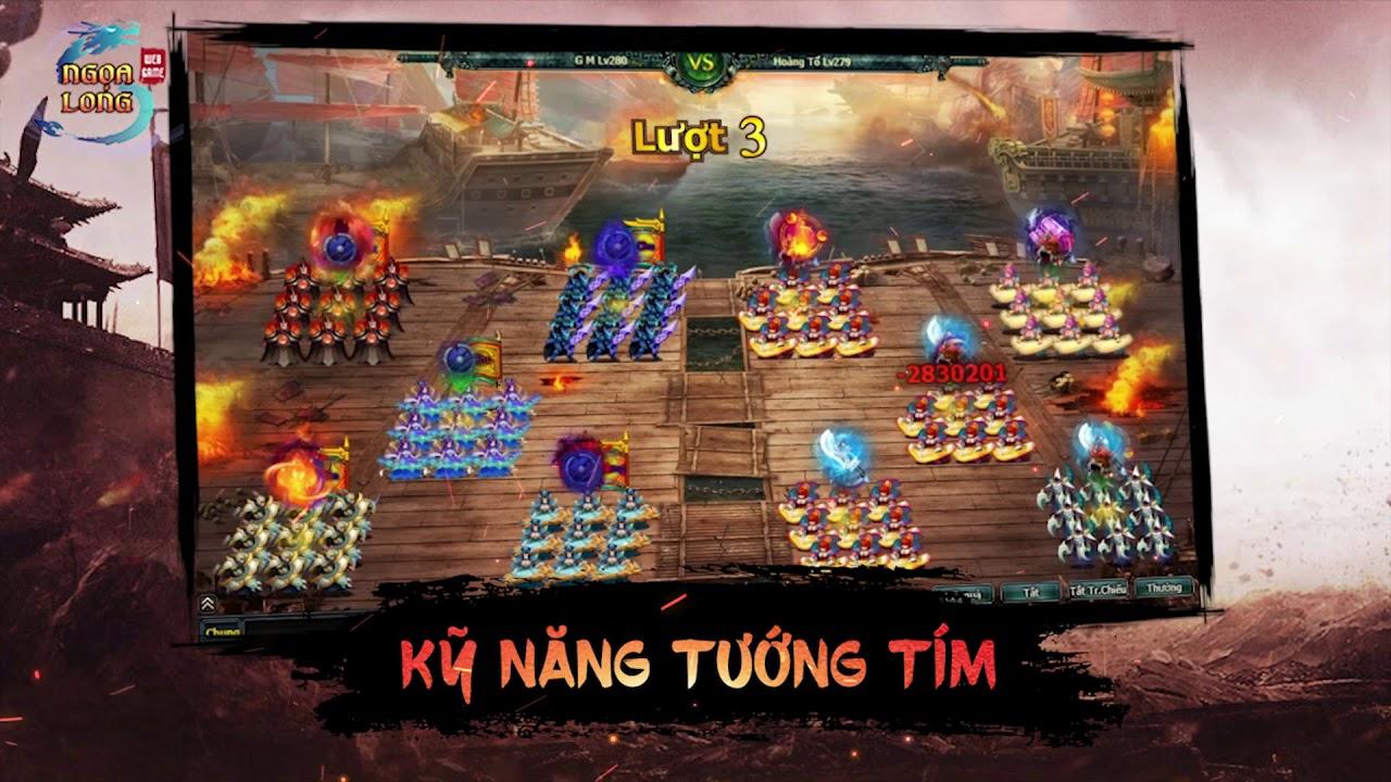 Download Ngọa Long VNG   Trialer PBM Bách Khí Hoàng Tổ Chi Tử