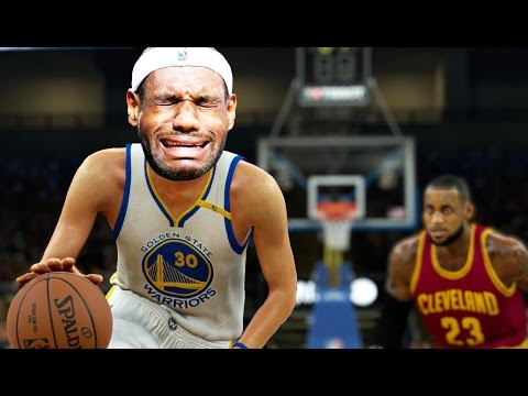 e954fe13a64 What If LeBron James Had Steph Curry s Height And Weight  NBA 2K17 Challenge