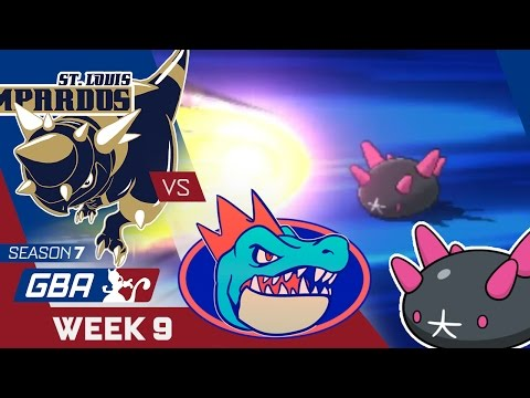 LOSING FOCUS! St. Louis Rampardos VS Florida Gators Week 9 GBA S7 | Pokemon Sun Moon WiFi