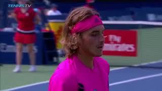 Hot Shot: Tsitsipas Forces Tie-Break With Perfect Combination In Toronto 2018