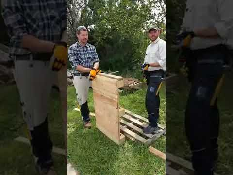 How to Make a Shaded Chicken Feed & Water Station