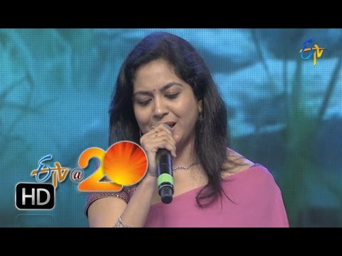 Mano,Sunitha Performance   Muddabanthi Navvulo Song in Tirupathi ETV @ 20 Celebrations