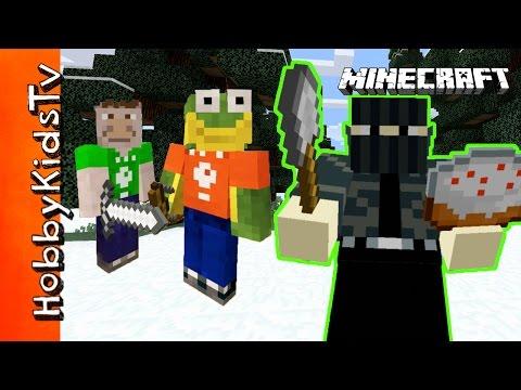 Minecraft HobbyVenture Cake Robber HobbyKidsTV
