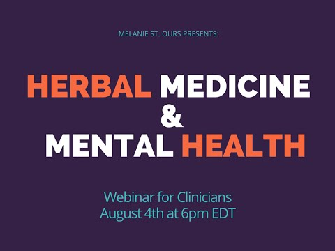 Herbal Medicine & Mental Health